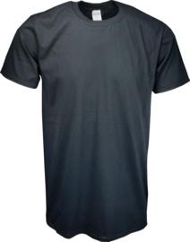 T-shirt Gildan Ronde Hals Zwart