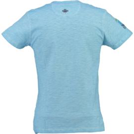 T-shirt Canadian Peak Isla Heren Blue met gratis 3-pack boxershorts