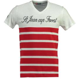 T-shirt Canadian Peak Jaybay Heren Red-White