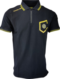 Polo Canadian Peak Kingo Heren Black Fluo Yellow