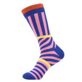 Vrolijke Sokken Strepen Maat 41-46