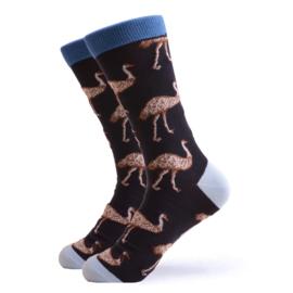 Vrolijke Sokken Struisvogel Maat 41-46