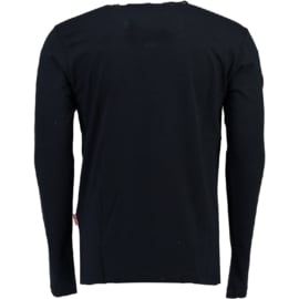Longsleeve Shirt Geographical Norway Jignac Heren Navy