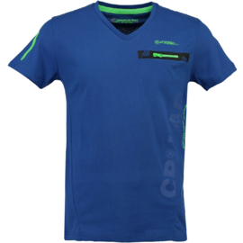 T-shirt Canadian Peak Japano Heren Bleu Royale Neon