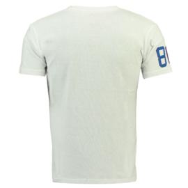 T-shirt Geographical Norway Joriginal Heren White