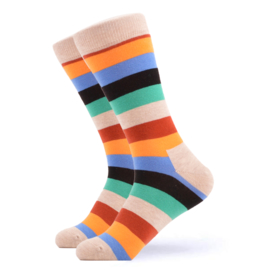 Vrolijke Sokken Strepen Maat 36-40