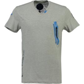 T-shirt Canadian Peak Josport Heren Gris Claire