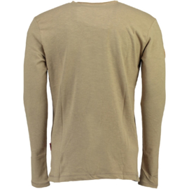 Longsleeve Shirt Geographical Norway Jignac Heren Sand