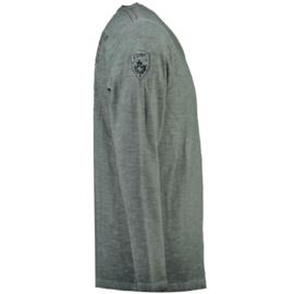 Longsleeve Shirt Canadian Peak Jeasy Heren Dark Grey