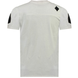 T-shirt Canadian Peak Jagger Heren Gris Clair