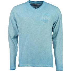Longsleeve Shirt Canadian Peak Jeasy Heren Sky Blue