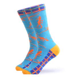 Vrolijke Sokken Salamander Maat 41-46