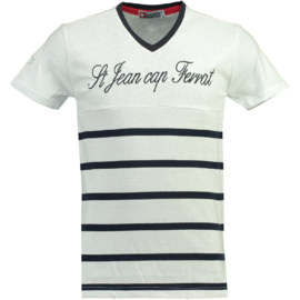 T-shirt Canadian Peak Jaybay Heren White-Navy