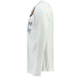 Longsleeve Shirt Canadian Peak Jamilton Heren White