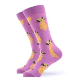 Vrolijke Sokken Ananas Maat 36-40