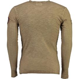 Longsleeve Shirt Canadian Peak Jawn Heren Blended Grey (alleen nog maat M)