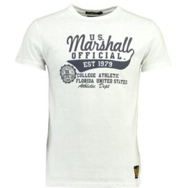 T-shirt US Marschall Jino Heren White