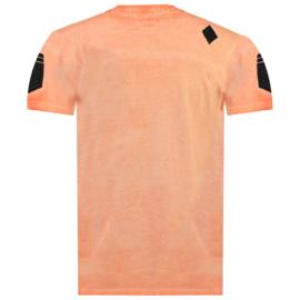 T-shirt Canadian Peak Jagger Heren Corail (alleen nog maat S en XL)