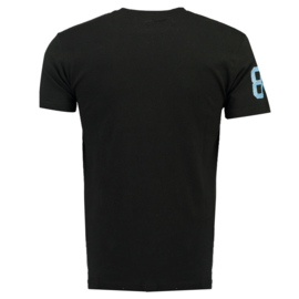 T-shirt Geographical Norway Joriginal Heren Black