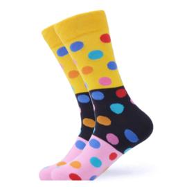 Vrolijke Sokken Stippen Maat 41-46