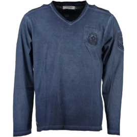 Longsleeve Shirt Canadian Peak James Heren Navy