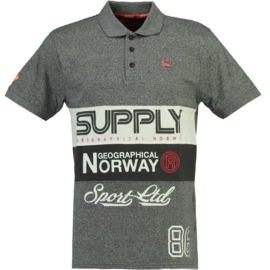 Polo Geographical Norway Karchie Heren Blended Grey