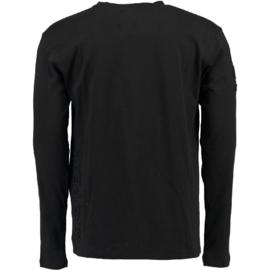 Longsleeve Shirt Canadian Peak Journa Heren Black