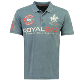 Polo Geographical Norway Krudo Heren Blue