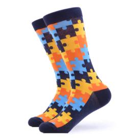 Vrolijke Sokken Puzzel Maat 41-46