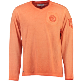 Longsleeve Shirt Canadian Peak James Heren Coral