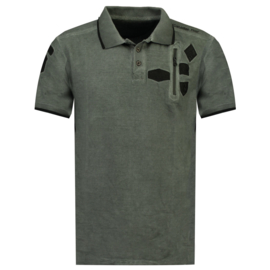 Polo Canadian Peak Kagger Heren Noir