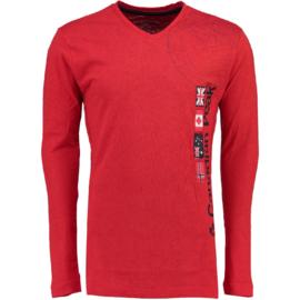 Longsleeve Shirt Canadian Peak Jazzmen Heren Red