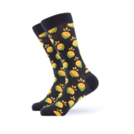 Vrolijke Sokken Limoen Maat 41-46