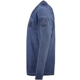 Longsleeve Shirt Canadian Peak James Heren Navy
