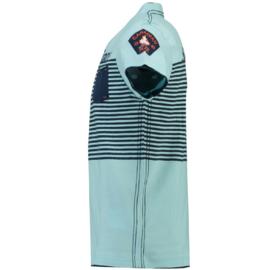 T-shirt Canadian Peak Jerem Heren Sky Blue-Navy