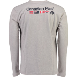 Longsleeve Shirt Canadian Peak Jazzmen Heren Blended Grey (alleen nog in maat S en M)