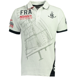 Polo Geographical Norway Kardashian Heren White