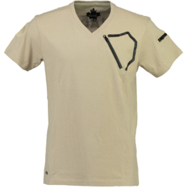 T-shirt Canadian Peak Joseph Heren Beige