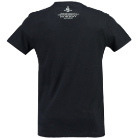 T-shirt Geographical Norway Jandinsky Heren Navy (alleen maat L)