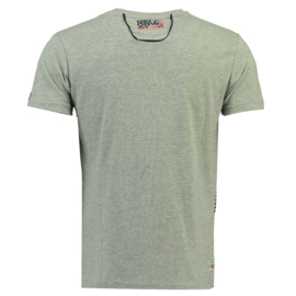 T-shirt Geographical Norway Jorsport Heren Blended Grey