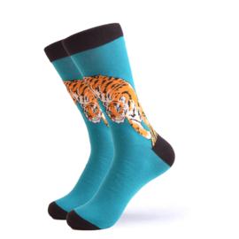 Vrolijke Sokken Tijger Maat 41-46