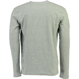 Longsleeve Shirt Canadian Peak Journa Heren Blended Grey (alleen nog in maat M)