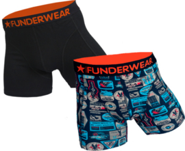 2-Pack Funderwear Boxershorts Suitable