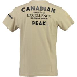 T-shirt Canadian Peak Joseph Heren Beige