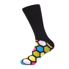 Vrolijke Sokken Zeshoek Maat 41-46