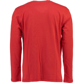 Longsleeve Shirt Canadian Peak Jamilton Heren Red (Alleen nog in maat L)