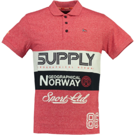 Polo Geographical Norway Karchie Heren Red