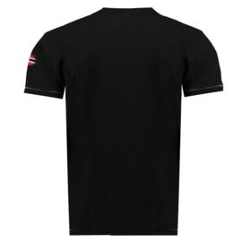 T-shirt Geographical Norway Jpepe Heren Navy