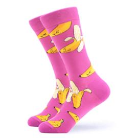 Vrolijke Sokken Banaan Maat 41-46