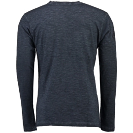 Longsleeve Shirt Geographical Norway Josstone Heren Dark Grey